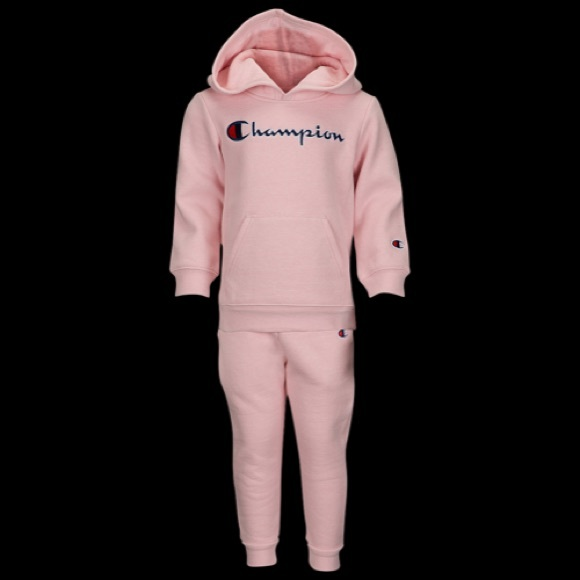 Baby Girl Pink Champion Sweatsuit d09f7cc3db64